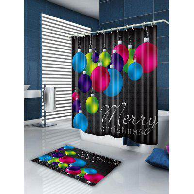 Colored Balls Printed Waterproof Christmas Shower CurtainShower Curtain<br>Colored Balls Printed Waterproof Christmas Shower Curtain<br><br>Materials: Polyester<br>Number of Hook Holes: W59 inch*L71 inch: 10; W71 inch*L71 inch: 12; W71 inch*L79 inch: 12<br>Package Contents: 1 x Shower Curtain 1 x Hooks (Set)<br>Pattern: Ball<br>Products Type: Shower Curtains<br>Style: Festival