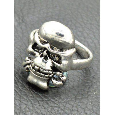 Vintage Alloy Skull Circle Finger RingRings<br>Vintage Alloy Skull Circle Finger Ring<br><br>Gender: Unisex<br>Metal Type: Alloy<br>Package Contents: 1 x Ring<br>Shape/Pattern: Skull<br>Style: Trendy<br>Weight: 0.0300kg