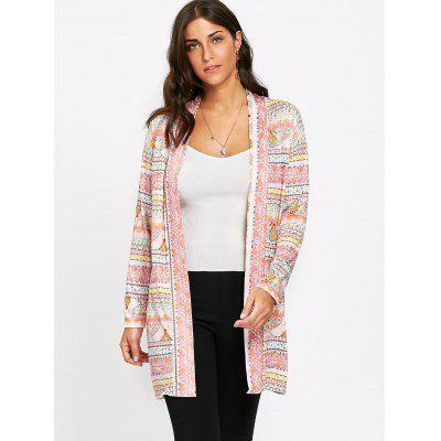 Ethnic Geometric Collarless CardiganSweaters &amp; Cardigans<br>Ethnic Geometric Collarless Cardigan<br><br>Collar: Collarless<br>Material: Polyester<br>Package Contents: 1 x Cardigan<br>Pattern Type: Geometric<br>Season: Fall, Spring, Winter<br>Sleeve Length: Full<br>Style: Casual<br>Type: Cardigans<br>Weight: 0.2300kg