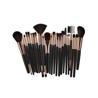 25Pcs Multifunctional High Quality Fiber Makeup Brushes SetMakeup Brushes &amp; Tools<br>25Pcs Multifunctional High Quality Fiber Makeup Brushes Set<br><br>Category: Makeup Brushes Set<br>Package Contents: 25 x Brushes(Pcs)<br>Season: Fall, Spring, Summer, Winter<br>Weight: 0.1670kg