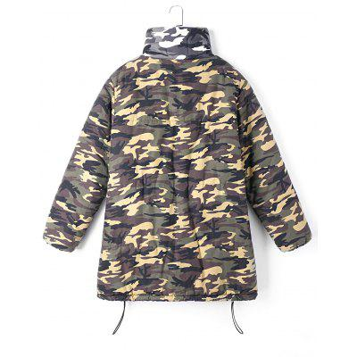 Zip Up Camo Print CoatJackets &amp; Coats<br>Zip Up Camo Print Coat<br><br>Closure Type: Zipper<br>Clothes Type: Padded<br>Collar: Stand-Up Collar<br>Material: Polyester<br>Package Contents: 1 x Coat<br>Pattern Type: Print<br>Season: Fall, Spring, Winter<br>Shirt Length: Regular<br>Sleeve Length: Full<br>Style: Fashion<br>Type: Wide-waisted<br>Weight: 0.8890kg