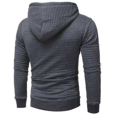 Plaid Emboss Zip Pocket Pullover HoodieMens Hoodies &amp; Sweatshirts<br>Plaid Emboss Zip Pocket Pullover Hoodie<br><br>Clothes Type: Hoodie<br>Material: Polyester<br>Occasion: Going Out, Daily Use, Casual<br>Package Contents: 1 x Hoodie<br>Patterns: Solid<br>Shirt Length: Regular<br>Sleeve Length: Full<br>Style: Fashion<br>Thickness: Regular<br>Weight: 0.6500kg