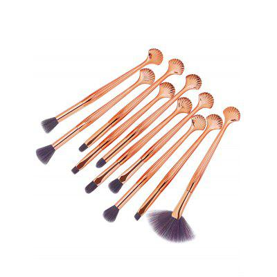 10Pcs Multifunctional Shell Shaped Embellished Makeup Brushes SetMakeup Brushes &amp; Tools<br>10Pcs Multifunctional Shell Shaped Embellished Makeup Brushes Set<br><br>Category: Makeup Brushes Set<br>Package Contents: 10 x Brushes(Pcs)<br>Season: Fall, Spring, Summer, Winter<br>Weight: 0.1296kg