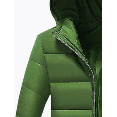 Hooded Applique Longline Zip Up Padded CoatMens Jackets &amp; Coats<br>Hooded Applique Longline Zip Up Padded Coat<br><br>Clothes Type: Padded<br>Collar: Hooded<br>Material: Polyester<br>Package Contents: 1 x Coat<br>Season: Winter<br>Shirt Length: X-Long<br>Sleeve Length: Long Sleeves<br>Style: Fashion, Streetwear, Casual<br>Weight: 0.7200kg