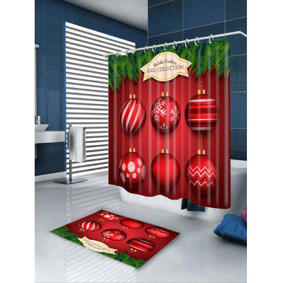 Six Red Balls Printed Waterproof Shower CurtainShower Curtain<br>Six Red Balls Printed Waterproof Shower Curtain<br><br>Materials: Polyester<br>Number of Hook Holes: W59 inch*L71 inch: 10; W71 inch*L71 inch: 12; W71 inch*L79 inch: 12<br>Package Contents: 1 x Shower Curtain 1 x Hooks (Set)<br>Pattern: Ball<br>Products Type: Shower Curtains<br>Style: Festival