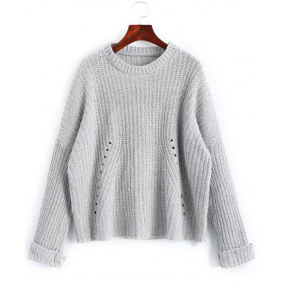 Chunky Destroyed Oversized Sweater