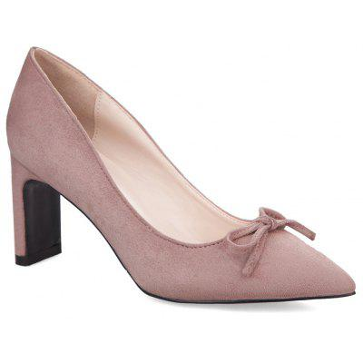 Bowknot Pointed Toe Pumps