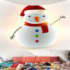 Tapestry Christmas Decor Pattern - BIANCO E ROSSO