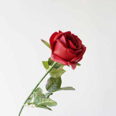 Valentines Day Gift 1 Piece Artificial Rose Flower