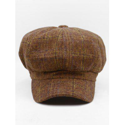 Outdoor Tartan Pattern Embellished Newsboy HatWomens Hats<br>Outdoor Tartan Pattern Embellished Newsboy Hat<br><br>Gender: For Women<br>Group: Adult<br>Hat Type: Beret<br>Material: Wool<br>Package Contents: 1 x Hat<br>Pattern Type: Plaid<br>Style: Fashion<br>Weight: 0.1200kg