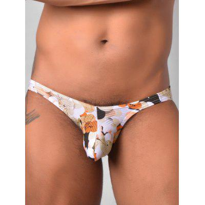 Low Rise Colorful Ball Print Briefs