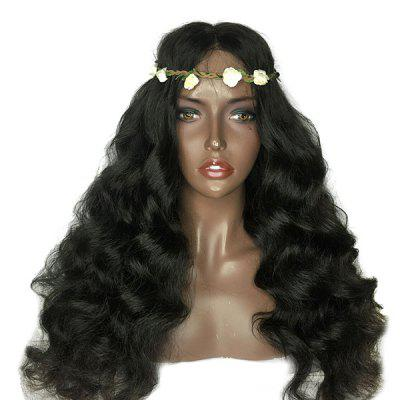 Long Lace Front Shaggy Middle Part Loose Wave Synthetic Wig