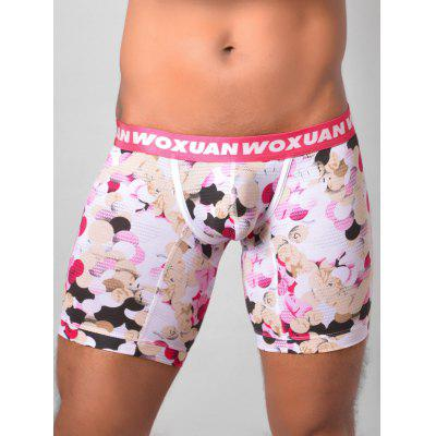 U Pouch Colorful Ball Print Boxer Briefs