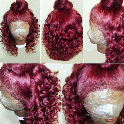 Long Free Part Fluffy Loose Wave Lace Front Synthetic Wig