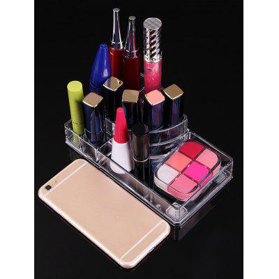 Acrylic Transparent Cosmetics Sundries Storage BoxMakeup Brushes &amp; Tools<br>Acrylic Transparent Cosmetics Sundries Storage Box<br><br>Category: Cosmetic Case<br>Features: Professional<br>Package Contents: 1 x Storage Box<br>Season: Fall, Spring, Summer, Winter<br>Weight: 0.2220kg