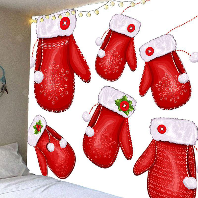 Christmas Gloves Pattern Wall Hanging Tapestry