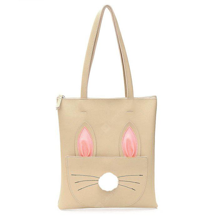 Cartoon Pattern PU Leather Shoulder Bag