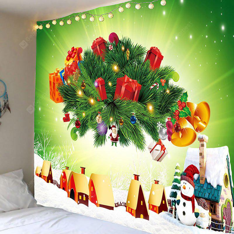 Christmas Presents Printed Wall Hanging Tapestry
