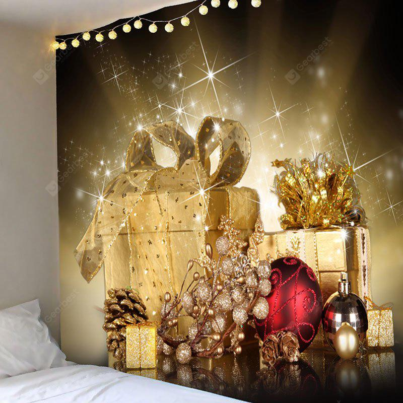 Christmas Gifts Balls Patterned Wall Hanging Tapestry - $11.00 Free ...