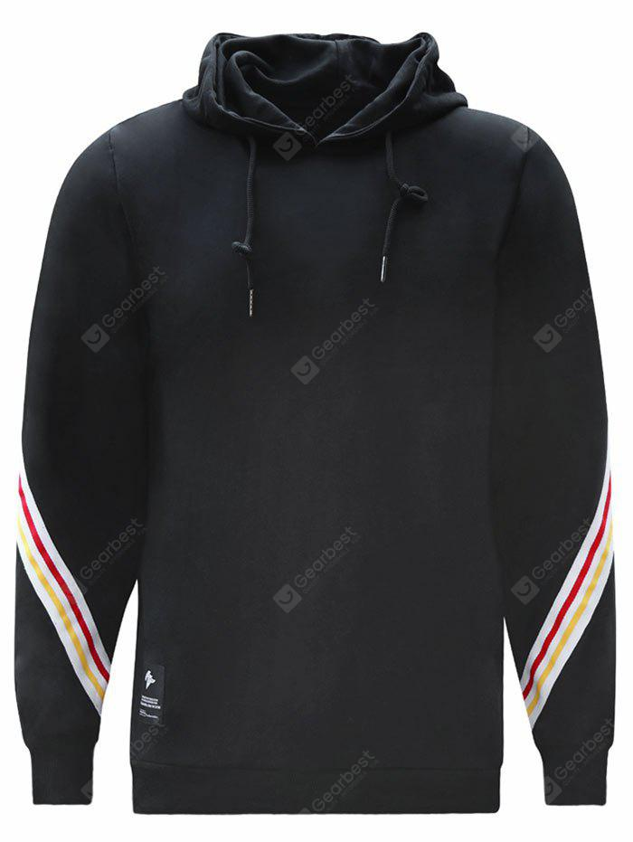 Colorful Stripe Mens Hoodie