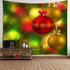Baubles and Light-spot Pattern Wall Art Tapestry - COLORFUL