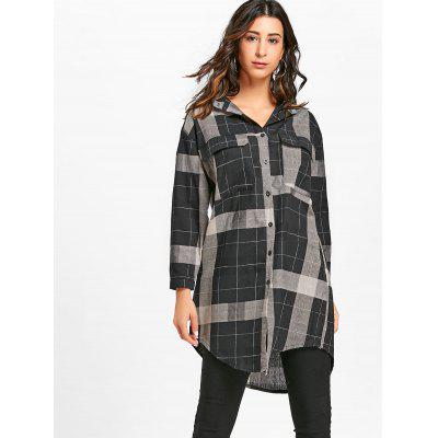 Plaid Midi Shirt DressWomens Dresses<br>Plaid Midi Shirt Dress<br><br>Dresses Length: Mid-Calf<br>Material: Polyester<br>Neckline: Shirt Collar<br>Occasion: Casual<br>Package Contents: 1 x Dress<br>Pattern Type: Plaid<br>Season: Fall, Spring<br>Silhouette: Shift<br>Sleeve Length: Long Sleeves<br>Style: Casual<br>Weight: 0.3500kg<br>With Belt: No