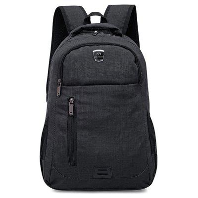 Double Side Pockets Multi Function Backpack