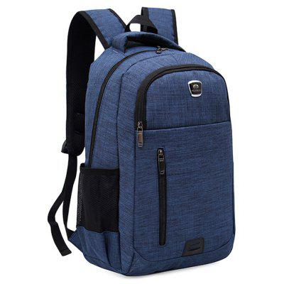 Double Side Pockets Multi Function BackpackBackpacks<br>Double Side Pockets Multi Function Backpack<br><br>Backpack Usage: Daily Backpack<br>Backpacks Type: Softback<br>Gender: For Men<br>Height: 46CM<br>Length: 31CM<br>Main Material: Polyester<br>Package Contents: 1 x Backpack<br>Pattern Type: Solid<br>Weight: 1.2000kg<br>Width: 14CM
