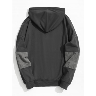 Corduroy Panel Mens HoodieMens Hoodies &amp; Sweatshirts<br>Corduroy Panel Mens Hoodie<br><br>Material: Cotton, Polyester<br>Package Contents: 1 x Hoodie<br>Pattern Type: Patchwork<br>Shirt Length: Regular<br>Sleeve Length: Full<br>Style: Casual<br>Weight: 0.4900kg