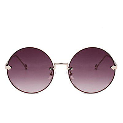 Vintage Arrow Embellished Rimless Round SunglassesWomens Sunglasses<br>Vintage Arrow Embellished Rimless Round Sunglasses<br><br>Frame Length: 13.6CM<br>Frame material: Other<br>Gender: For Women<br>Group: Adult<br>Lens height: 5.9CM<br>Lens material: Resin<br>Lens width: 5.4CM<br>Nose: 1.6CM<br>Package Contents: 1 x Sunglasses<br>Shape: Round<br>Style: Fashion<br>Temple Length: 13.5CM<br>Weight: 0.3000kg