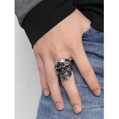 Cool Stainless Steel Skull RingMens Jewelry<br>Cool Stainless Steel Skull Ring<br><br>Gender: For Men<br>Package Contents: 1 x Ring<br>Shape/Pattern: Skull<br>Style: Trendy<br>Weight: 0.0250kg