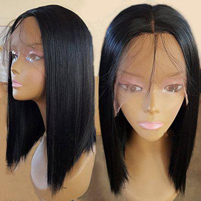 Medium Center Parting Straight Synthetic Lace Front Wig