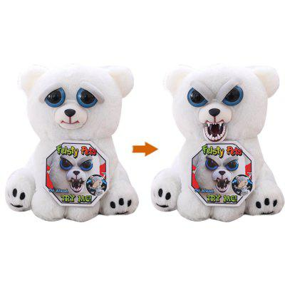 Feisty Pets Animals Plush Stuffed Toy Turns Feisty with A Squeeze