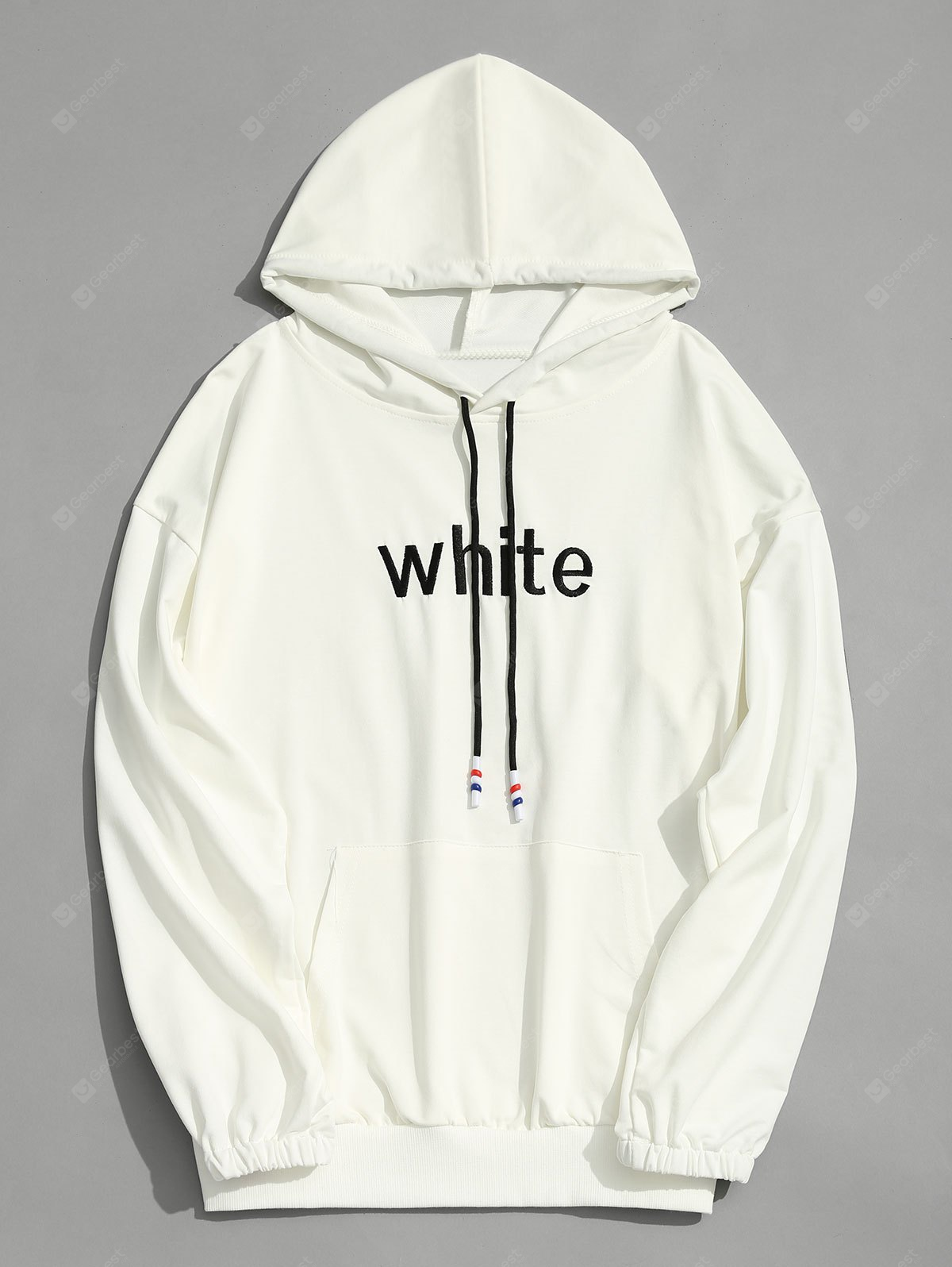 Striped Graphic Mens Hoodie