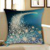 Christmas Starlight Printed Throw Pillow Case - BLUE