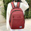 Multi Function Backpack With Handle - RED