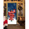 Christmas Fingerpost Print Deur Decor Stickers - COLORMIX