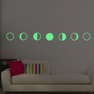 Noctilucence Gradual Change Moon Shape DIY Wall StickersWall Stickers<br>Noctilucence Gradual Change Moon Shape DIY Wall Stickers<br><br>Feature: Removable<br>Functions: Decorative Wall Stickers<br>Material: PVC<br>Package Contents: 1 x Wall Stickers (Set)<br>Pattern Type: Moon<br>Wall Sticker Type: Plane Wall Stickers<br>Weight: 0.0200kg