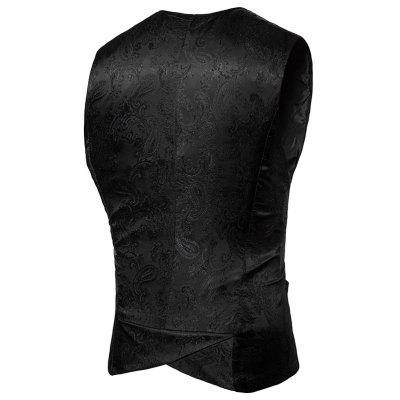 V Neck Panel Paisley Asymmetric WaistcoatWaistcoats<br>V Neck Panel Paisley Asymmetric Waistcoat<br><br>Closure Type: Double Breasted<br>Collar: V-Neck<br>Material: Polyester<br>Package Contents: 1 x Waistcoat<br>Shirt Length: Regular<br>Style: Fashion<br>Thickness: Standard<br>Weight: 0.2500kg