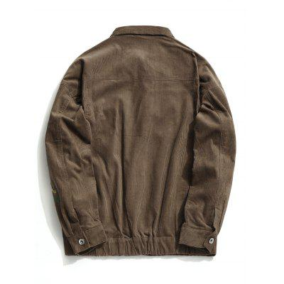 Corduroy Mens Button Up JacketMens Jackets &amp; Coats<br>Corduroy Mens Button Up Jacket<br><br>Clothes Type: Jackets<br>Collar: Turn-down Collar<br>Fabric Type: Corduroy<br>Material: Polyester<br>Package Contents: 1 x Jacket<br>Season: Fall<br>Shirt Length: Regular<br>Sleeve Length: Long Sleeves<br>Style: Casual<br>Weight: 0.7000kg