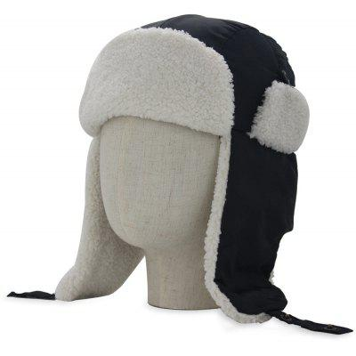 Winter Earmuff Embellished Waterproof Thicken Trapper Hat