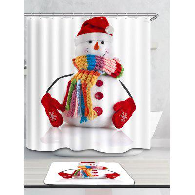 Red Hat Snowman Printed Waterproof Shower CurtainShower Curtain<br>Red Hat Snowman Printed Waterproof Shower Curtain<br><br>Materials: Polyester<br>Number of Hook Holes: W59 inch*L71 inch: 10; W71 inch*L71 inch: 12; W71 inch*L79 inch: 12<br>Package Contents: 1 x Shower Curtain 1 x Hooks (Set)<br>Pattern: Snowman<br>Products Type: Shower Curtains<br>Style: Festival