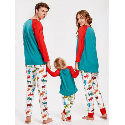 Фото ELK Tee and Pants Family Christmas Pajamas. Купить в РФ