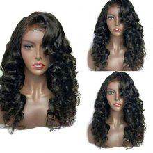 Long Deep Side Parting Shaggy Loose Wave Lace Front Synthetic Wig