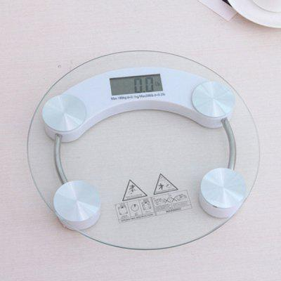 Transparent Glass Healthy Digital Body Weight Scale