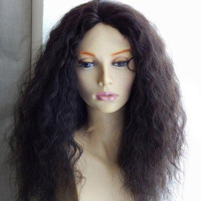 Long Center Parting Shaggy Corn Hot Curly Synthetic Wig