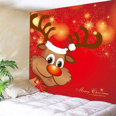 Christmas Elk Pattern Decorative Wall TapestryBlankets &amp; Throws<br>Christmas Elk Pattern Decorative Wall Tapestry<br><br>Feature: Removable, Waterproof<br>Material: Polyester<br>Package Contents: 1 x Tapestry<br>Shape/Pattern: Elk<br>Style: Festival<br>Theme: Christmas<br>Weight: 0.4100kg