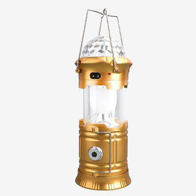 Outdoor Power Bank Stage Light Flashlight Camping Lantern