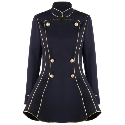 Double Breasted Skirt Blazer