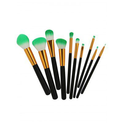 Two Tones Bristles Makeup Brush Set 10PcsMakeup Brushes &amp; Tools<br>Two Tones Bristles Makeup Brush Set 10Pcs<br><br>Brush Hair Material: Bristle<br>Category: Makeup Brushes Set<br>Package Contents: 10 x Makeup Brushes(Pcs)<br>Season: Fall, Spring, Summer, Winter<br>Weight: 0.1092kg